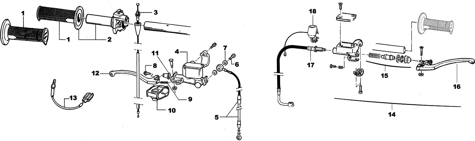 Brake and Clutch Pump