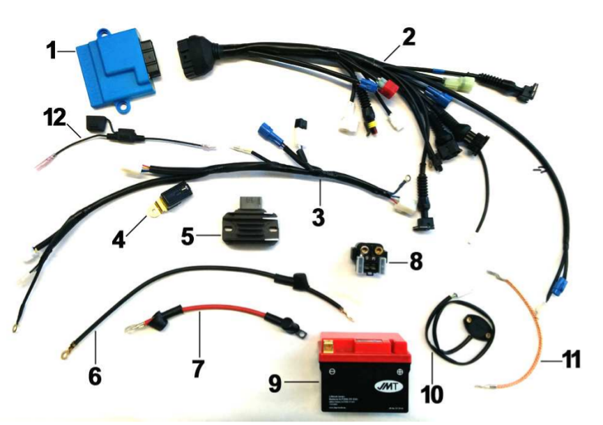 Wiring 250-450 END ES