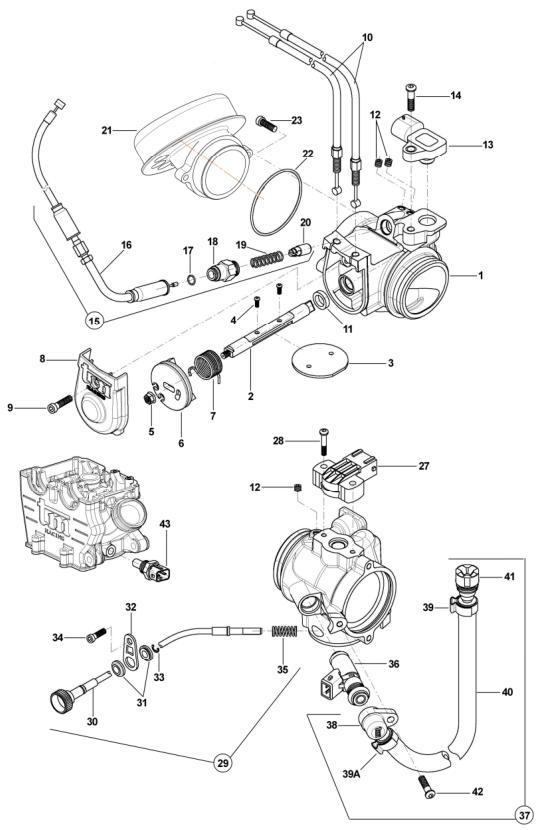 Throttle Body + Sensors