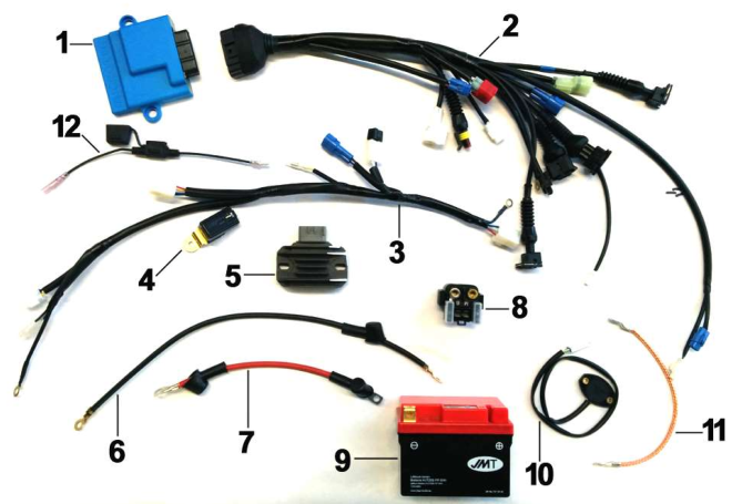 Wiring END Electric Starter