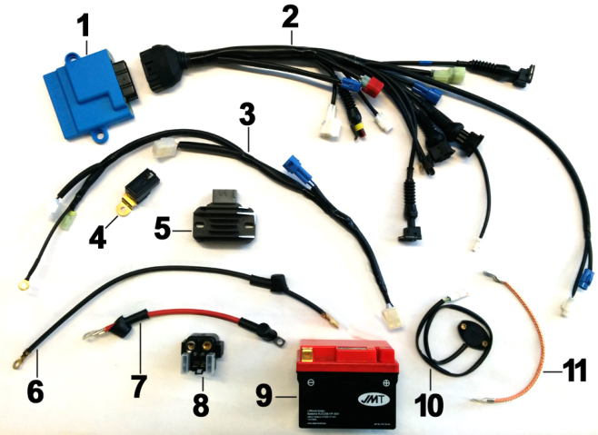 Wiring MX Electric Starter