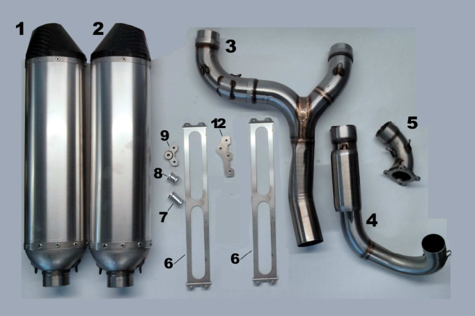 Exhaust Pipe 450-530