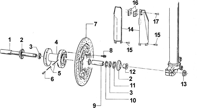 Front Wheel Hub