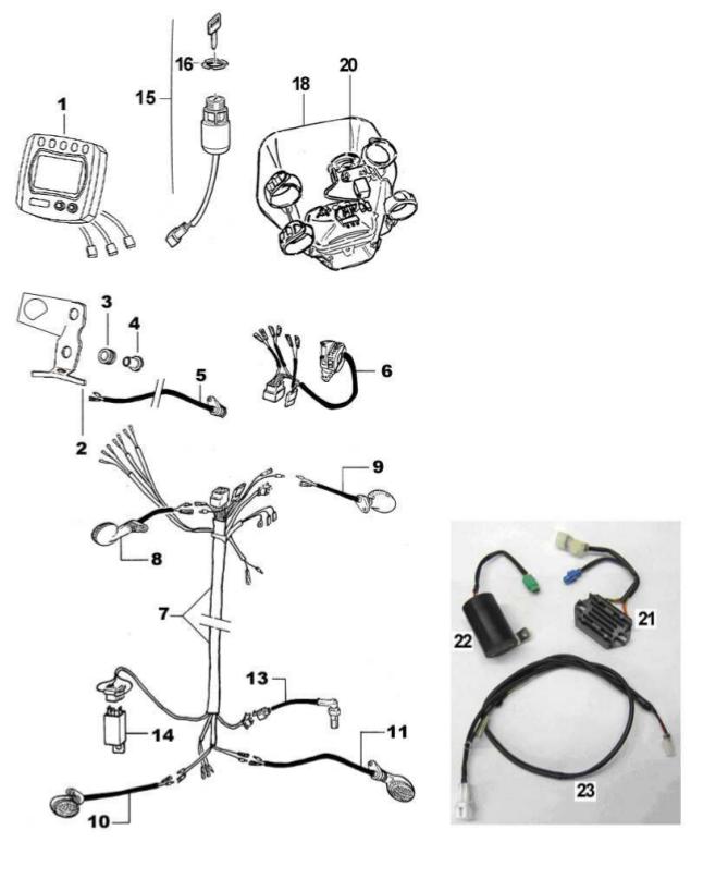 Light + Speedometer + Regulator