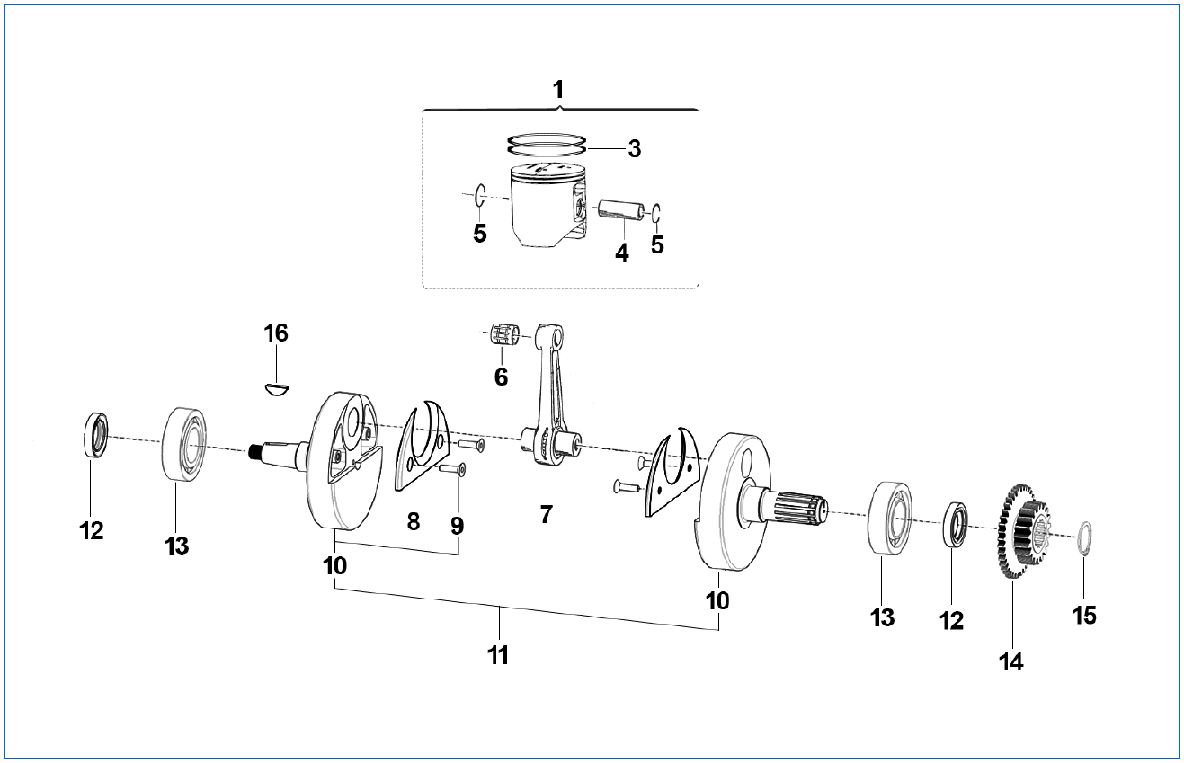 Piston Crankshaft