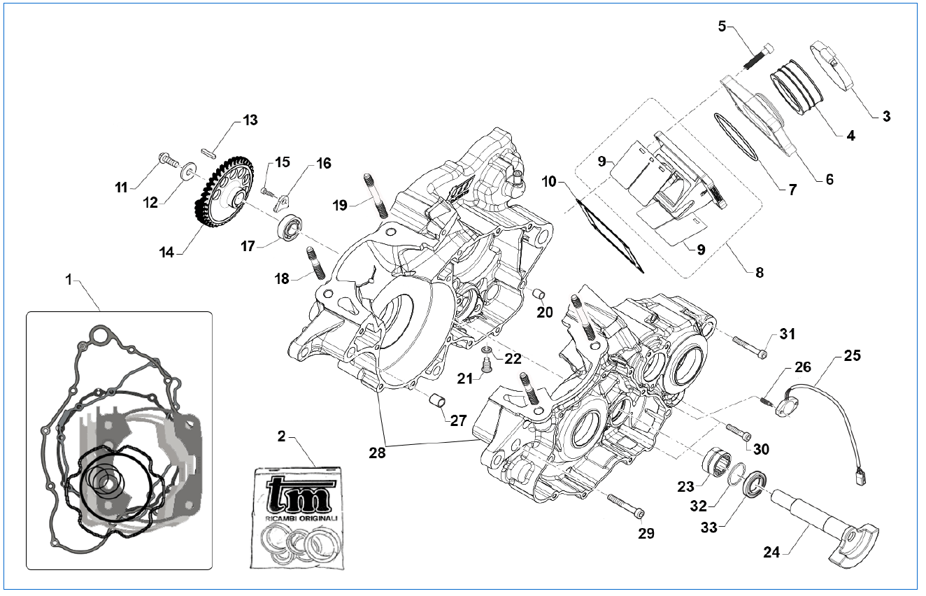 Crankcase Balance Shaft